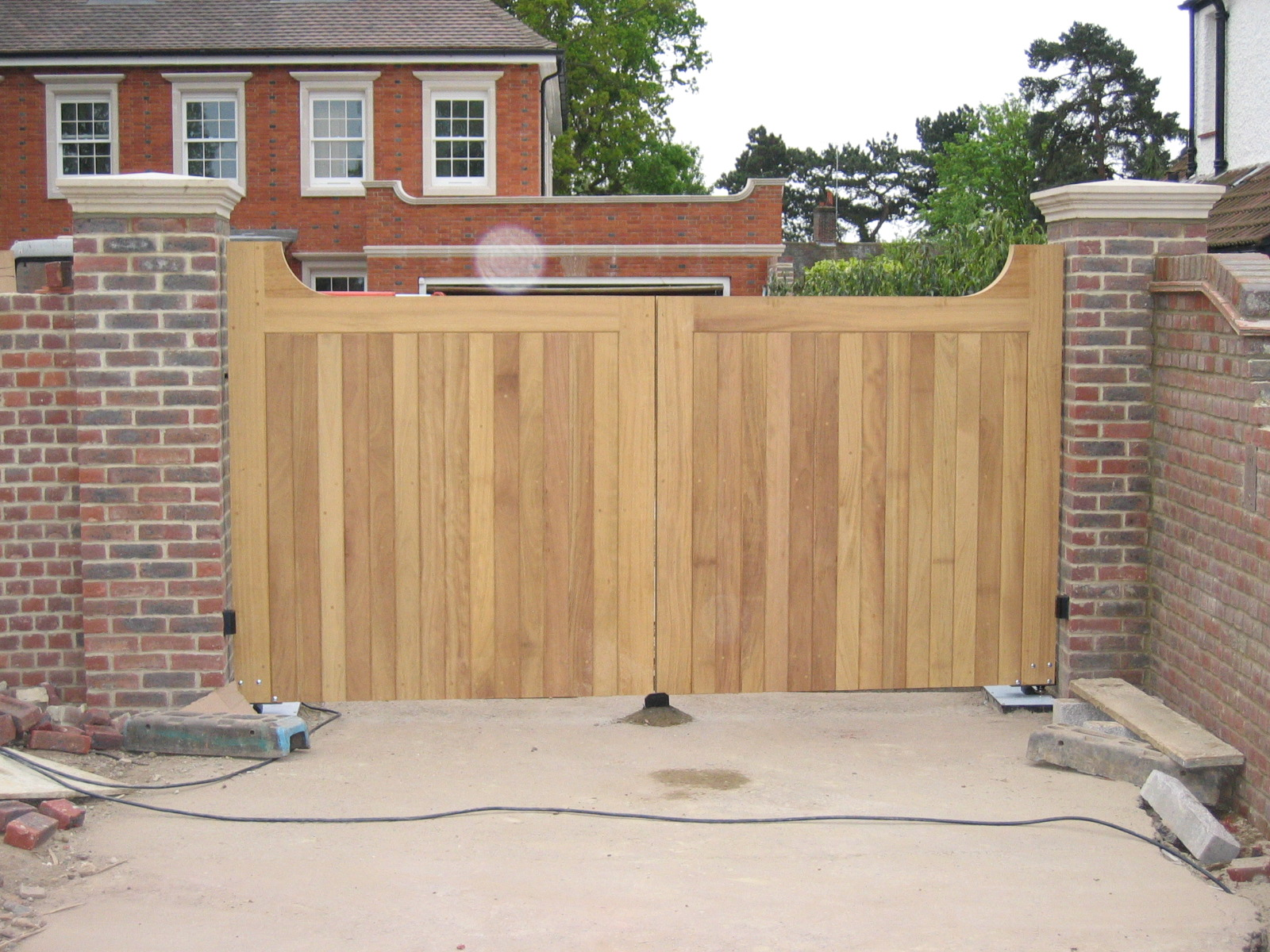 Res Wooden Gates Gkw Wrought Iron Kent